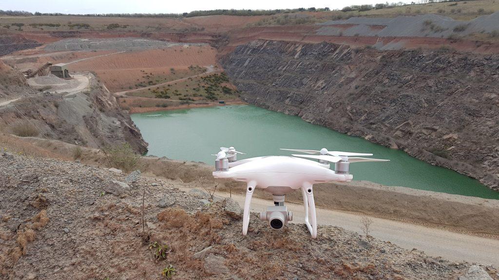 J F Brown Uav Quarry Flight